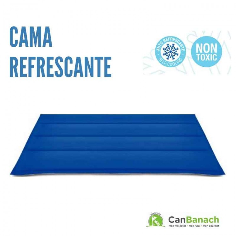 CAMA REFRESCANTE COOL MAT AZUL 50 X 90 CM