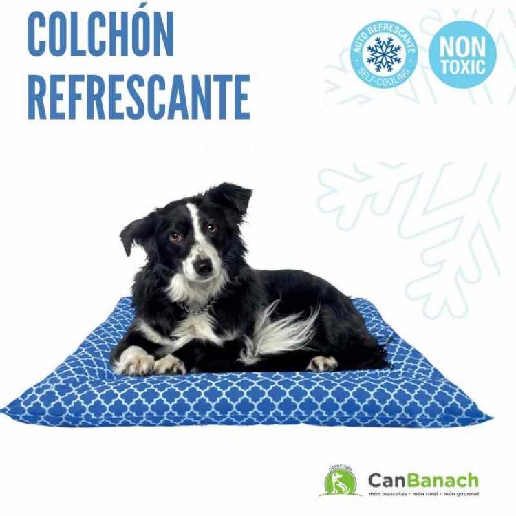 COLCHON REFRESCANTE COOL MAT GEL AZUL 76 X 66 CM