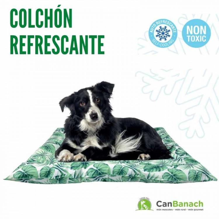 COLCHON REFRESCANTE COOL MAT GEL JUNGLE 76 X 66 CM