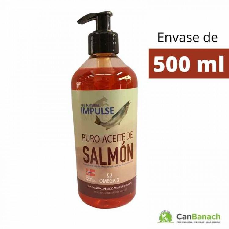 Aceite de Salmón de Noruega Impulse 500 ml