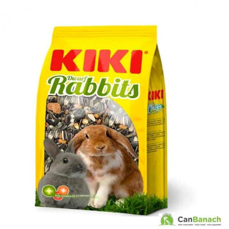 Mixtura para conejos enanos Kiki 5 Kg