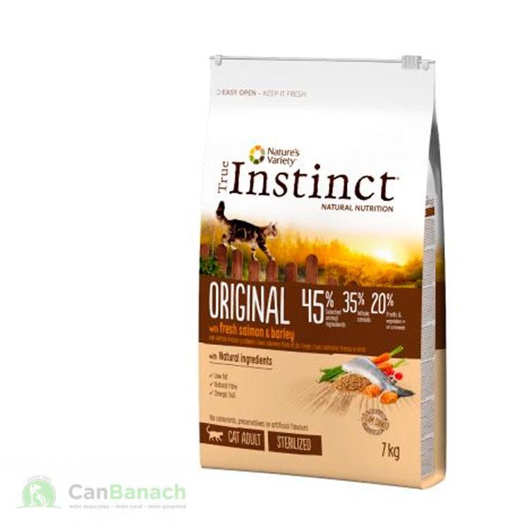True Instinct cat original salmon esterilizados 7 kg