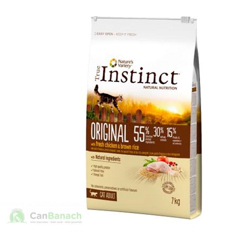 True Instinct Original Adult con pollo 7 KG