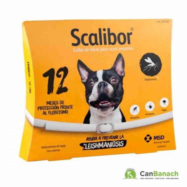 Collar Scalibor 48 CM Antiparasitario para Perros 12 meses