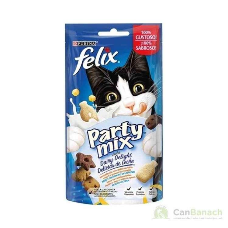 Felix Party Mix delicias de leche 60 gr