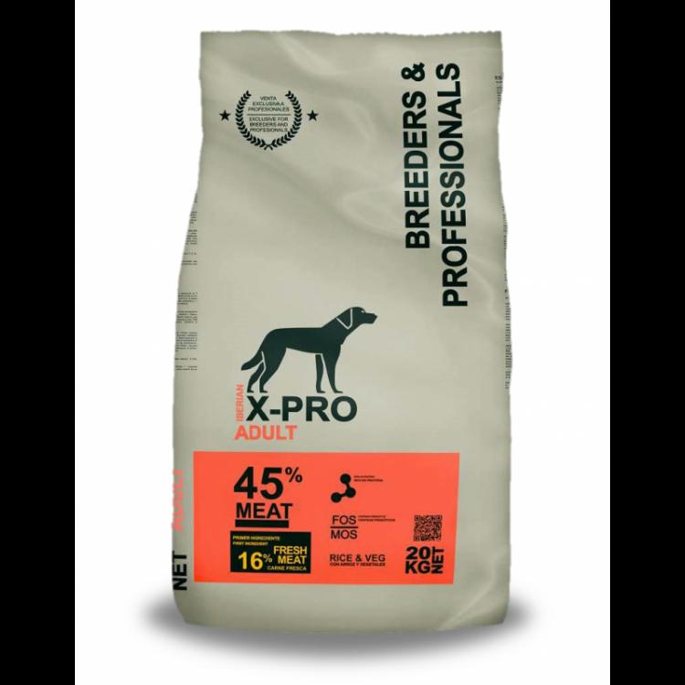 X-Pro Profesional Pienso Para Perros Adultos - Pollo y pavo de calidad 20 kilos - (Formulado para Criadores y Profesionales)