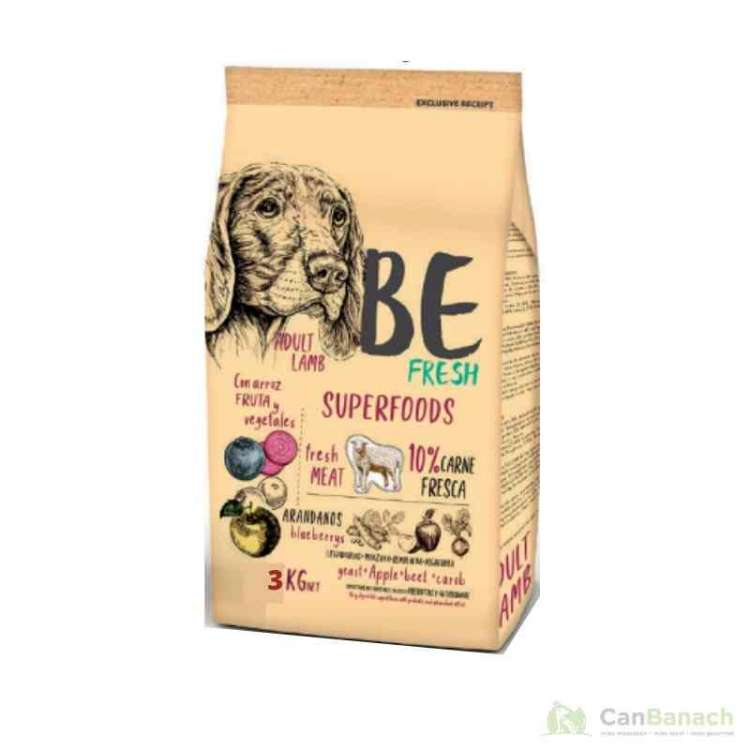 Be Fresh Adult Lamb 3 kg