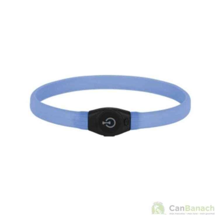 Collar para perro LED Maxi Safe azul 60 cm
