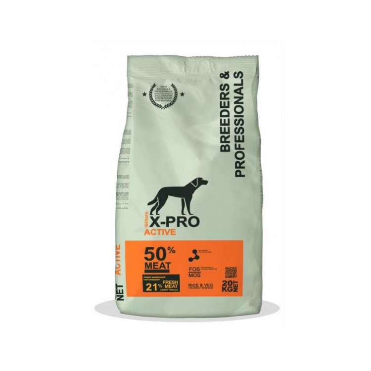 X-PRO PROFESSIONAL DOG ACTIVE 20 KG