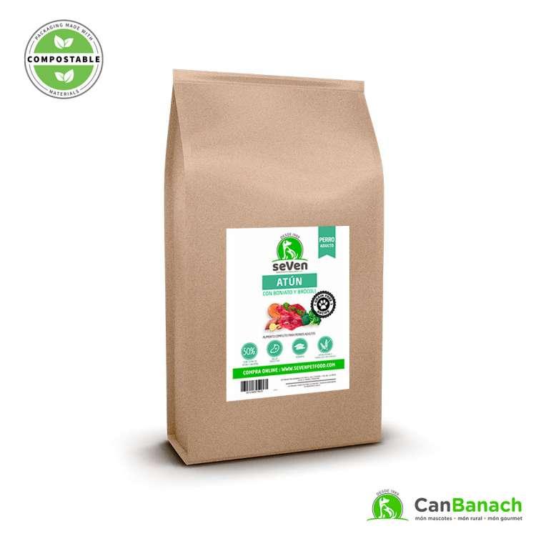 seVen - Perro Grain Free Atún con boniato y brocoli 12 Kg