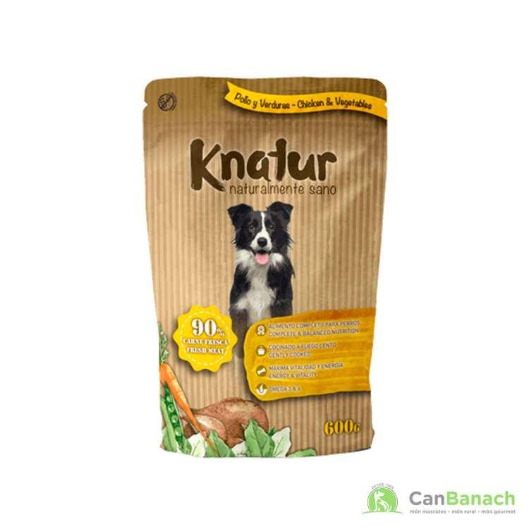 Alimento Húmedo Knatur 90 % pollo - 600 GR