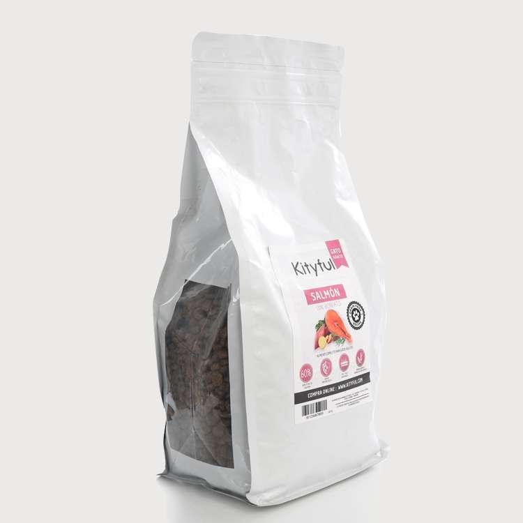 Kityful cat grain free salmón con boniato 7,5 KG
