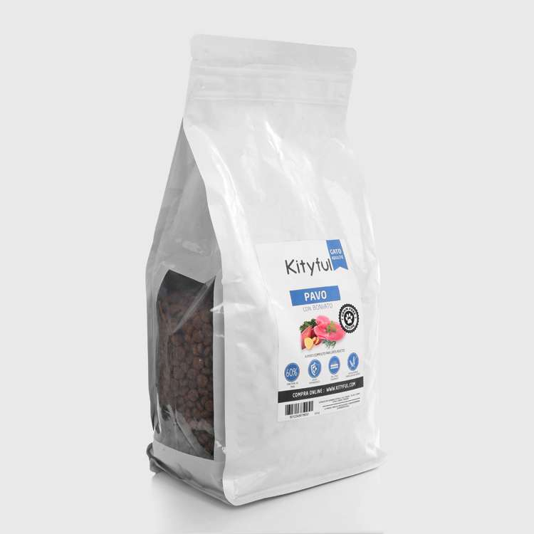 Kityful cat grain free pavo con boniato 400 gr