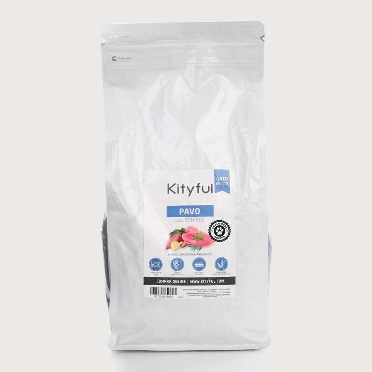Kityful cat grain free pavo con boniato 7.5 KG