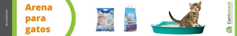Arena para gatos | Produtos de Higiene para gatos
