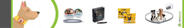 Collares antiparasitarios para perros | Collares antipulgas y garrapatas | Seresto y Scalibor