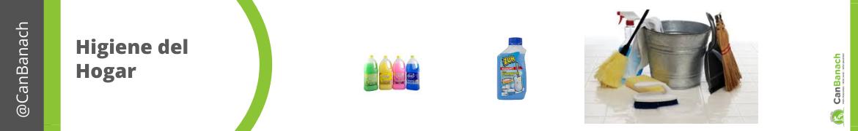 Productos y accesorios para la higiene del hogar